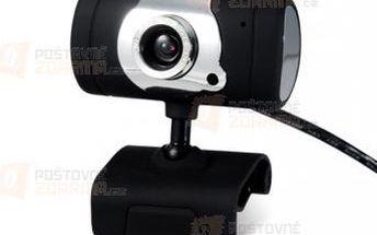 5Mpix webkamera s mikrofonem - černá a poštovné ZDARMA! - 9999921178