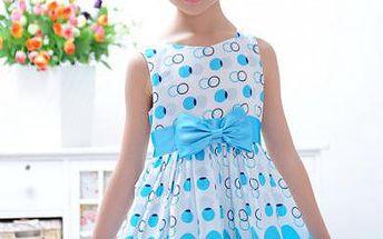 Dětské šaty s mašlí Princezna!