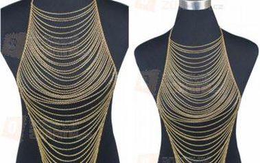 Mnohovrstvý tělový bikini šperk a poštovné ZDARMA! - 9999921145