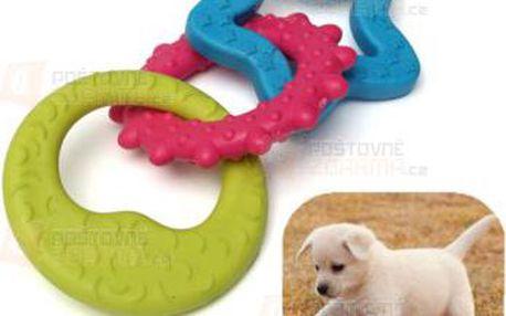 Trojitá gumová hračka pro psy a poštovné ZDARMA! - 9999921125