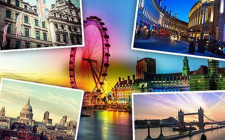 2980 Kč za 4-denní poznávací zájezd do Londýna 28. - 31.5.2015 za jeho světoznámými památkami a nejzajímavějšími místy