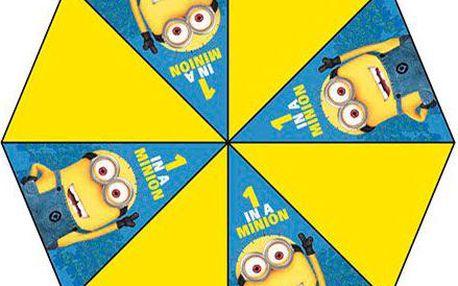 Mimoňský deštník žlutý (48cm)