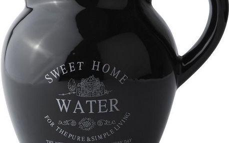 Džbán na vodu Sweet Home 2 l, černý