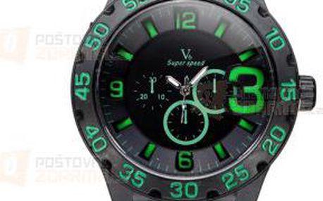 Gumové hodinky s velkým ciferníkem - 6 barev a poštovné ZDARMA! - 9999921097
