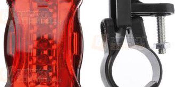Červená zadní blikačka pro cyklisty a poštovné ZDARMA! - 9999921152