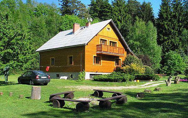 3denní pobyt pro 2 osoby s lahví vína a frgálem v penzionu Alpina v Beskydech