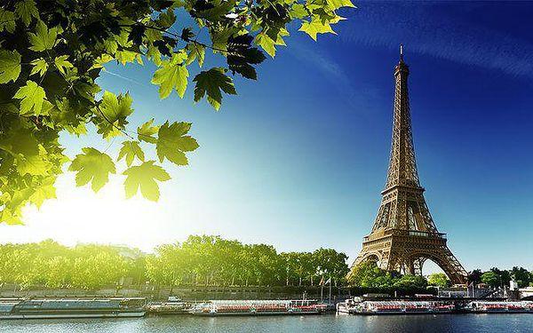 4denní zájezd do Paříže a Versailles s projížďkou po Seině a ubytováním pro 1 osobu