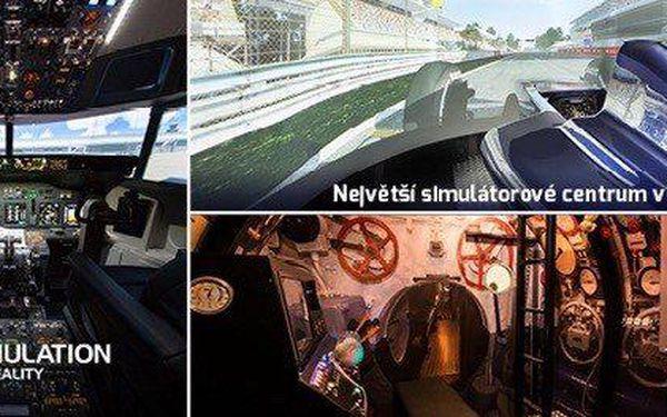 7 simulátorů během jediné návštěvy (90 min)
