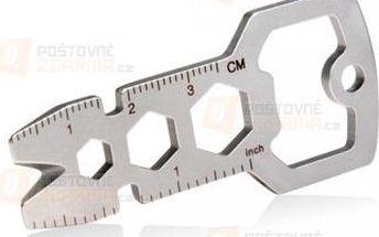 Multifunkční kovová klíčenka a poštovné ZDARMA! - 9999921261