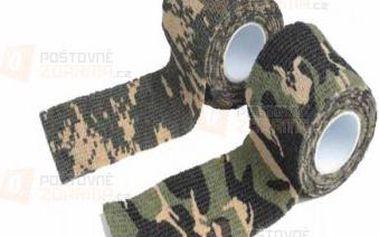Maskáčová tkaná lepicí páska a poštovné ZDARMA! - 9999921233