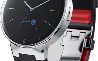 Notifikační hodinky s podporou technologie Bluetooth ALCATEL ONETOUCH watch SM02, černé