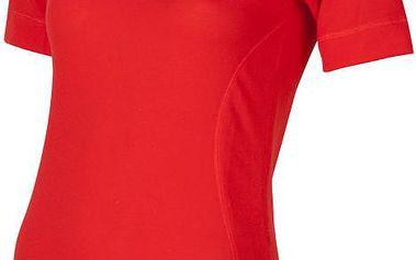 Sensor Doubleface Evo dámské tričko s krátkým rukávem červená M