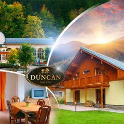 Pobyt na 3 dny v Janských Lázních, v penzionu Duncan se SNÍDANÍ pro DVA, uprostřed krkonošské přírody!