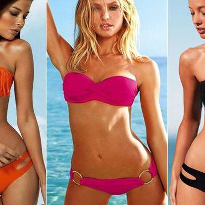 Sexy dvoudílné plavky, 2 typy ve více barevných variantách