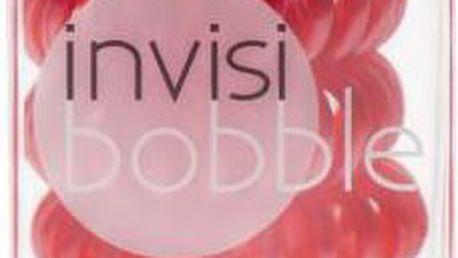 Invisibobble gumička do vlasů červená 3 ks