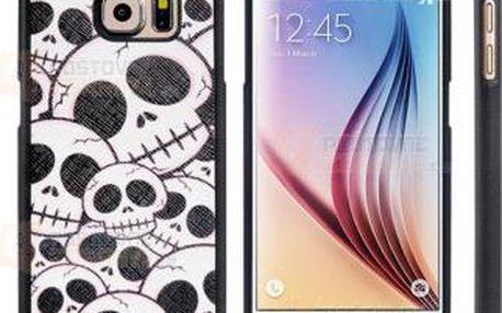 Kryt se vzorem lebek na Samsung Galaxy S6 a poštovné ZDARMA! - 9999920482