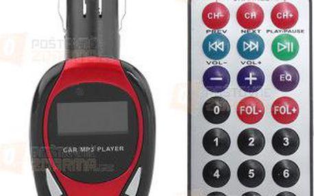 FM transmitter s LCD displejem - 3 barvy a poštovné ZDARMA! - 9999921219