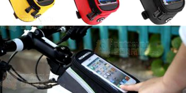 Cyklistická brašna s kapsou na iPhone - 3 barvy a poštovné ZDARMA! - 9999921244