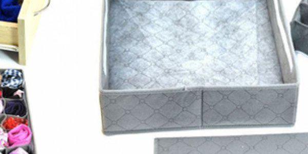 Organizér do zásuvky o rozměru 30x34 cm - praktický pomocník k ukládání věcí.