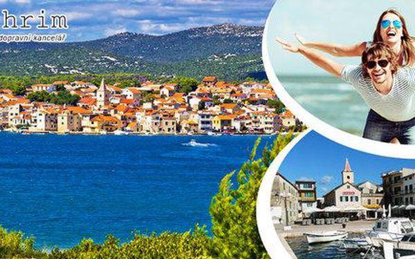 8 dní v Chorvatsku s polopenzí a dopravou