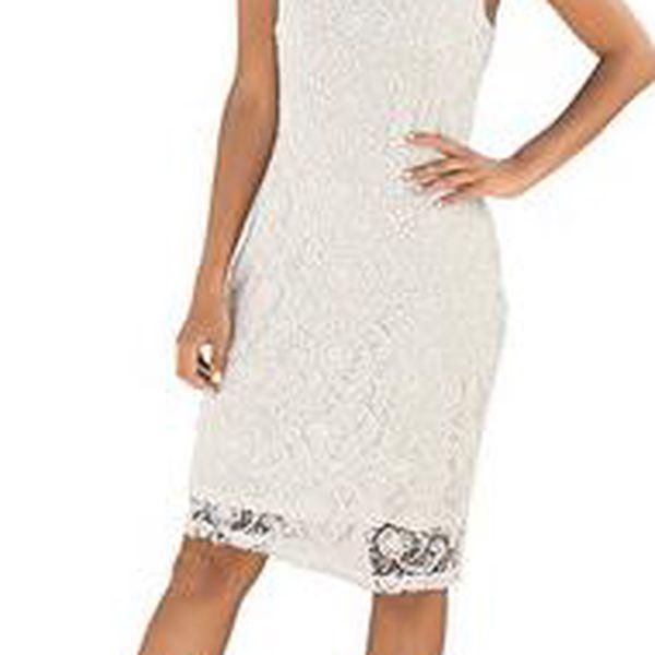 Módní šaty z velice kvalitní krajky