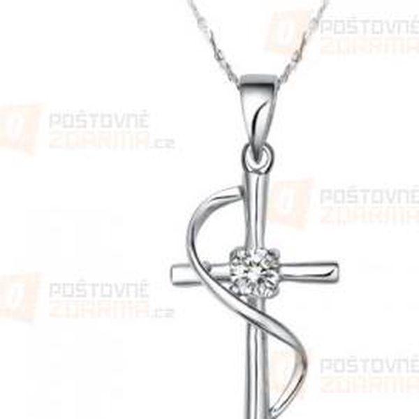 Elegantní přívěsek v podobě kříže a poštovné ZDARMA! - 9999921231