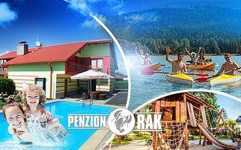Aktivní třídenní pobyt pro DVA s POLOPENZÍ na LIPNĚ! Sauna, zapůjčení kol, loďky i šlapadla a další výhody!