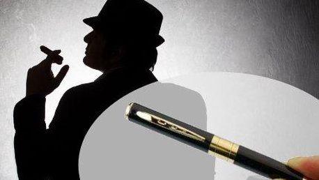 Špionážní pero s kamerou a fotoaparátem