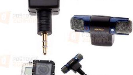 Externí 3.5 mm mikrofon ke GoPro kameře a poštovné ZDARMA! - 9999921277