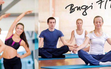 Permanentka na 5 vstupů do fitcentra BugiFIT na typ cvičení dle vašeho výběru.