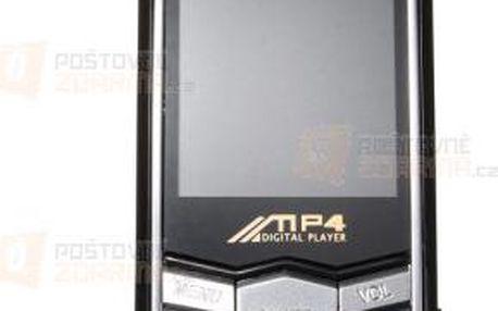 4GB MP4 přehrávač s FM rádiem a poštovné ZDARMA! - 9999921275