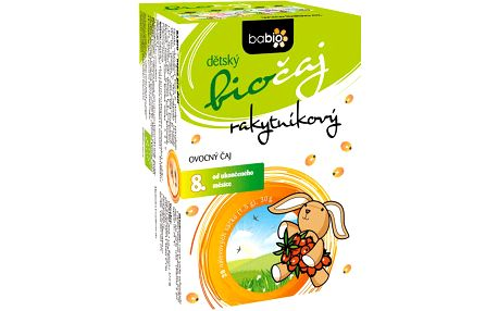 BABIO Dětský rakytníkový biočaj 20x1,5 g