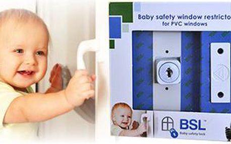 Blokovací zámek na okna BSL pro bezpečnost vašeho domova