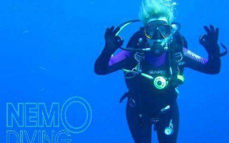 Základní kurz potápění ve volné vodě (cca 2 měsíce)
