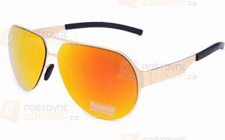 Unisex sluneční brýle s kovovým rámem a poštovné ZDARMA! - 9999921273