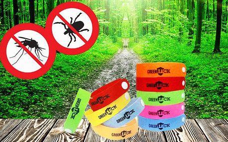 Repelentní náramky proti komárům, 20 kusů