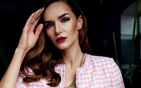 Luxusní kosmetické ošetření s líčením: 90 minut