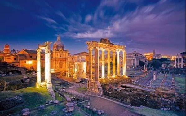 5 denní poznávací zájezd do Itálie - Řím, Pompeje, Capri a Neapolský záliv