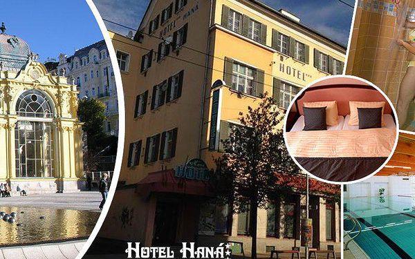 Wellness pobyt v Mariánských Lázních pro 2 osoby s polopenzí, masážemi, zábalem a bazénem.
