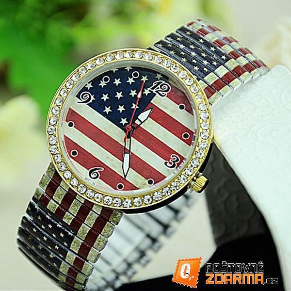 Vintage hodinky s elastickým páskem - 4 motivy - 9999914806