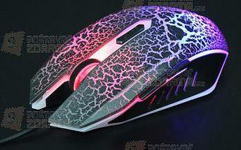 Svítící drátová USB herní myš a poštovné ZDARMA! - 9999921356