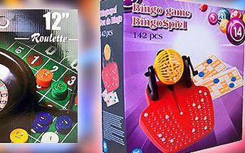 Ruleta nebo bingo: Společenské hry pro přátele drobného hazardu!