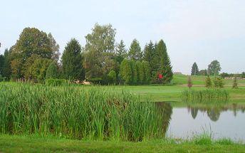 3 denní golfový pobyt vč. 2x golf fee na novém golfovém hřišti Česká Lípa