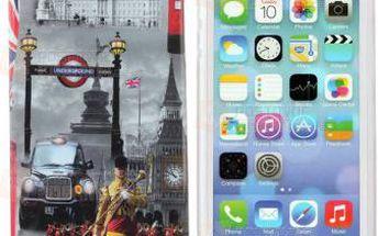 Kryt na iPhone 5/5S - London a poštovné ZDARMA! - 9999921384