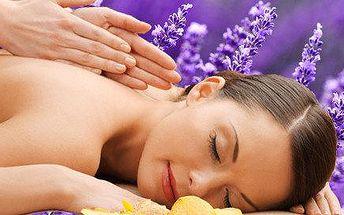 Výběr ze dvou druhů relaxačních masáží v…