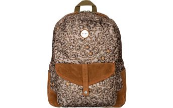 Dámský stylový batoh Roxy Carribean s koženými detaily