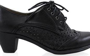 Jarní dírkovaná obuv H9163B Velikost: 39