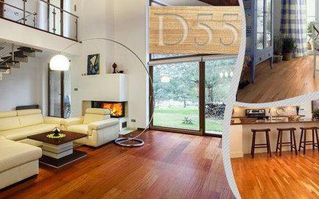 Plovoucí dřevěná podlaha s 30letou životností