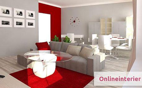 Online návrh interiéru s 3D vizualizací