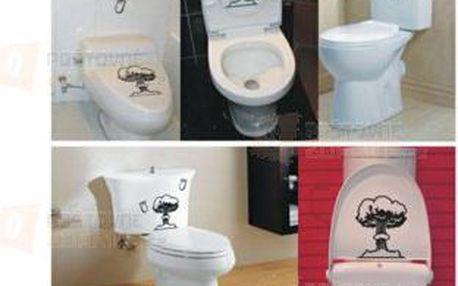 Vtipná samolepka na WC ve tvaru bomby a poštovné ZDARMA! - 9999921426